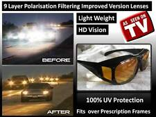 Night Driving Vision HD Glasses Prevention Yellow Driver HD Sunglasses