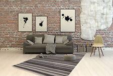 Wohnraum-Teppiche in aktuellem Design aus 100% Wolle fürs Badezimmer
