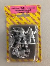 Foundry Cutthroats Treasure Island Characters 7 Miniatures - New Rare