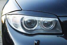 For BMW E87 E88 E81 E82 Eyebrows headlight Cover eye lids light cover Brow mask