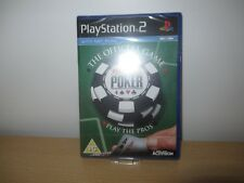 World Series of Poker Sony PlayStation 2 Ps2 PG Card Game