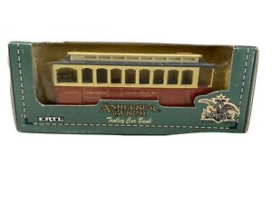 Anheuser Busch Trolley Car Bank 1:43 Scale Die Cast Metal