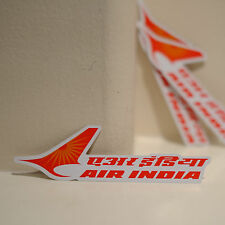 """#4091 Air India Luggage Label Airway Airline Travel 1x4"""" Decal STICKER"""