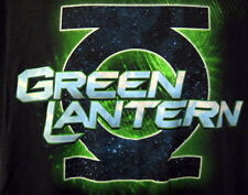 Green Lantern Tee Shirt Black Large DC Comics Vinyl Corps Light Emblem Universe