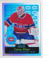 15-16 OPC Platinum Carey Price RETRO RAINBOW Parallel Canadiens 2015