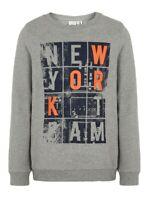 NAME IT Jungen Pullover Sweatshirt NKMVildar grau Größe 116 bis 158/164