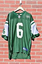 New York Jets Reebok Mark Sanchez On Field Player's Jersey Size M...A006