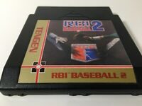✅R.B.I. Baseball 2 (Nintendo NES, 1990) TESTED! GREAT CONDITION! SEE PICS!