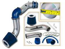BCP BLUE 2004-2008 Chevy Aveo 1.6L L4 Racing Cold Air Intake Kit + Filter