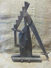 Vintage 1800s Iron & Wood Wagon Jack > Antique Horse Western Gear RARE 9585