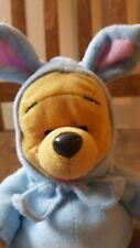 "Baby Pooh in bunny Pj Walt Disney Plush 8"" Stuffed Animal Toy 1999"