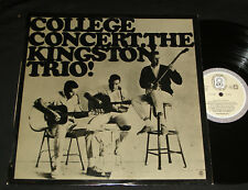 KINGSTON TRIO ‎– COLLEGE CONCERT AUSSIE CLUB LP MONO 1960s FOLK