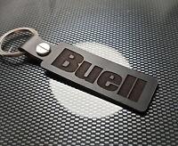 BUELL Leather Keyring Keychain Motorbike Blast Thunderbolt Lightning Motorcycle