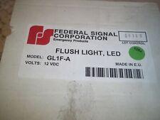 Federal Signal Amber Led Light Assy Pn Gl1f A
