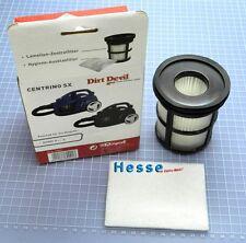 DIRT DEVIL Ersatz-Zentralfilter+Ausblasfilter 2880001 Centrixx SX M2880-0 bis -5