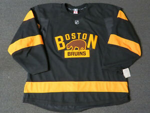New Boston Bruins Winter Classic Third Style Authentic Team Issued Reebok Jersey