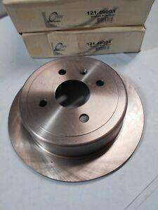Rear Disc Brake Rotor-Set - Fits Daewoo Nubira 1999-2002 - Centric 121.49003