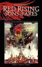 Pierce Browns Rojo Creciente: Sons Of Ares Un Original Novela Gráfica Tp Por Rik