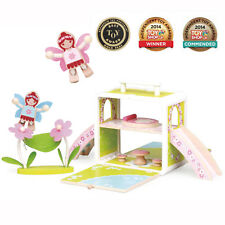 Boxset ® Niños Niños Juguetes de Madera Juego de Rol Juego Regalo Presente-Casa De Hadas