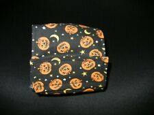 """Dog Puppy Belly Band Wrap Contour Diaper Male Puppy Flannel lined 19.5"""" PUMPKINS"""