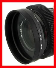 @ FRONT Step Up RING 58 58mm -> 80 80mm O.D. for LENS to MATTE BOX 77mm Duclos @