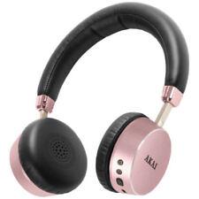 Akai Dynmx Bluetooth Wireless Rechargeable Stereo Over Ear Headphones A58044RG