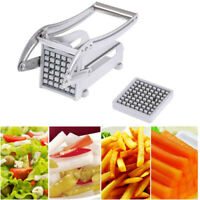 Stainless Steel French Fry Cutter Vegetable Potato Chopper Slicer Dicer 2 Bl _