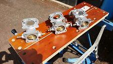JAGUAR - E-Type - 3.8 & 4.2 -  Manifold and Triple SU Carburettors reconditioned