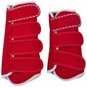 Catago Diamond Dressage Boots - Red