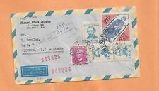 INTERNATIONAL AIR MAIL SAO PAULO BRASIL TO CANADA 1967