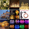 Christmas USB String Fairy Lights 3/5/10M LEDs Copper Wire Wedding Lamp Decor