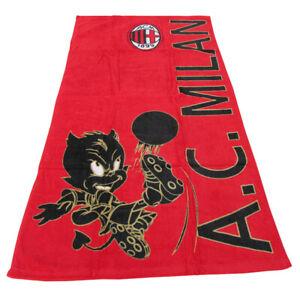 A.C. Milan telo mare asciugamano 75x150 cm Beach towel  serviette de plage