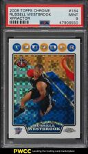2008 Topps Chrome Xfractor Russell Westbrook ROOKIE RC /288 #184 PSA 9 MINT