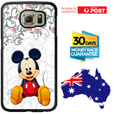 Galaxy Note 8 S8 S7 S6 S3 Edge Plus Rubber Case Mickey Mouse For Girls Samsung
