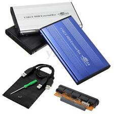 """2.5"""" USB 2.0 IDE Hard Drive Disk HDD External Case Enclosure Box for Laptop PC"""