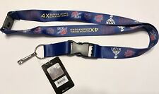 New York Giants 4 Time Super Bowl Champions Dynasty Lanyard