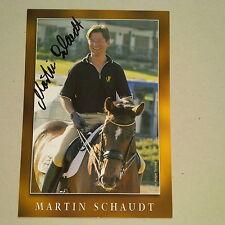 MARTIN SCHAUDT (D) OS 1996/04 2x1. DRESSUR signed AK 10x15