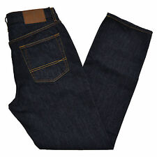 Tommy Hilfiger Mens Bootcut Jeans Denim Boot Pants Brown Patch All ...