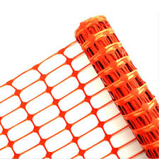 Plastic Safety Netting Barrier Fence - Length Options