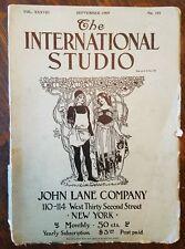 September 1909 International Studio Magazine - Arts - Pierce Arrow