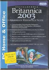 Encyclopedia Britannica 2003 Ready Reference (Full Product) (Mpn-852299338).