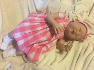 """Ivy Jane By Melody Hess Reborn Baby Doll Limited Edition COA 22"""" Painted Hair"""