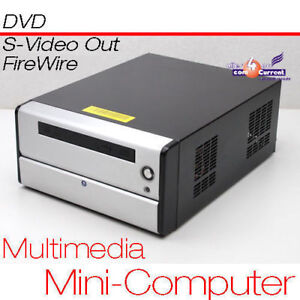 Very Still MULTIMEDIA Small 12 V PC CPU 1,6 GHZ S-VIDEO Tv-Out 160 GB 1GB MM