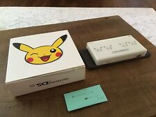 Nintendo DS Lite First Pokemon Daisuki Club Pikachu Complete Used
