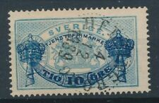 [6113] Sweden 1889 official good stamp very fine used. Nice cancel. Perf 13