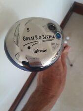 Callaway great big bertha 5 wood. It is in very good condition.Regular shaft.