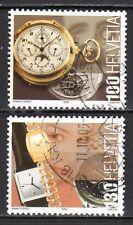 Switzerland - 2005 Traditional Swiss products: Watches -  Mi. 1933-34 VFU