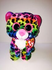 """TY DOTTY BRIGHT CAT 6"""" BEANIE BOOS-NEW, MINT TAG-IN HAND & SHIPS NOW*SO FUN*"""