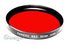52mm Kamero Red Lens Filter