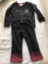 Adidas X Star Wars Jumper Tracksuit Black Red Baby Toddler 12-18 Months